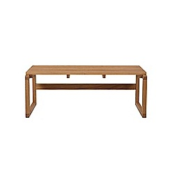 Debenhams - Oak 'Zoe' bench