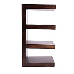 Debenhams - Mango wood open shelving unit