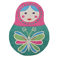 Butterfly Home by Matthew Williamson - Russian doll rug