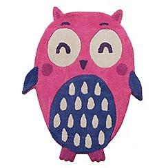 bluezoo - Owl rug