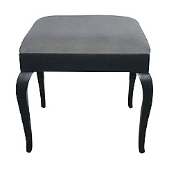 Debenhams - Velvet-effect 'Reflections' stool