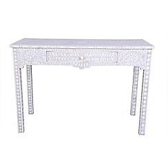 Debenhams - Bone inlay 'Ankara' dressing table