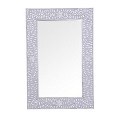 Debenhams - Bone inlay 'Ankara' mirror