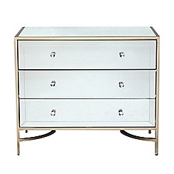 Debenhams - 'Gatsby' 3 drawer chest