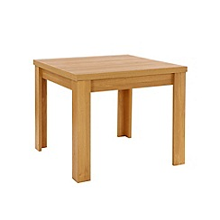 Debenhams - Oak effect 'Benjamin' flip-top table