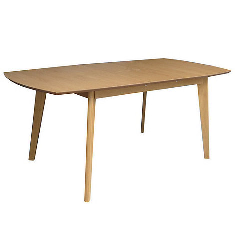 Debenhams - Oak finished +Metro+ extending table
