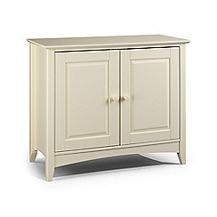 Debenhams - Soft white 'Barcelona' sideboard