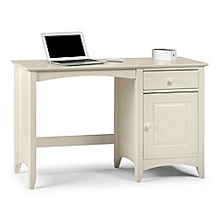 Debenhams - Soft white 'Barcelona' desk