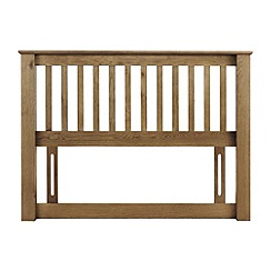 Julian Bowen - Oak 'Newbury' headboard