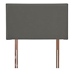 Airsprung - Dark grey velvet 'Loxley' headboard