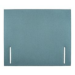 Sleepeezee - Light blue flat weave 'Quince' headboard