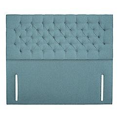 Sleepeezee - Light blue flat weave 'Chester' headboard