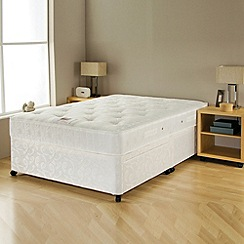 Airsprung - 'Silver comfort' divan bed with mattress
