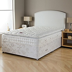 Airsprung - 'Platinum Comfort' divan bed with mattress