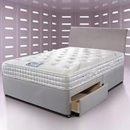 'Touch 2000 Supreme' divan bed and mattress set
