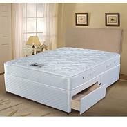 White 'Select Visco' 600 divan bed