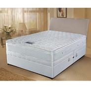 White 'Select Visco' 800 ottoman divan bed