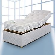 Pocket Adjustable' divan bed and mattress set