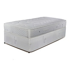 Sleepeezee - 'Natural Luxury 1200' divan bed with mattress