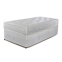 Sleepeezee - 'Natural Luxury 2000' divan bed with mattress