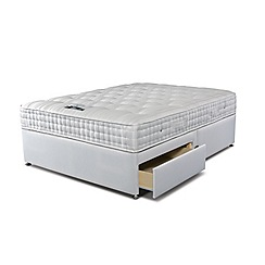 Sleepeezee - 'Supreme Ortho 1400' divan bed with mattress and 2 drawers