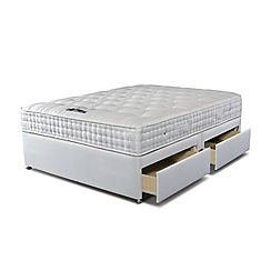 Sleepeezee - 'Supreme Ortho 1400' divan bed with mattress and 4 drawers