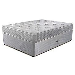 Cumfilux - 'Supacoil Essential' ottoman divan bed with mattress