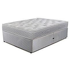 Cumfilux - 'Supacoil Ultimate' ottoman divan bed with mattress
