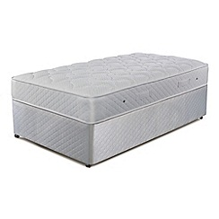 Simmons - 'Technicool Memory 600' divan bed with mattress