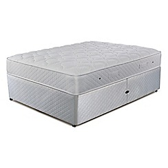 Simmons - 'Technicool Memory 600' ottoman divan bed with memory foam mattress