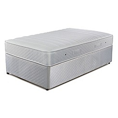 Simmons - 'Technicool Memory 800' divan bed with memory foam mattress