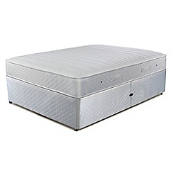 Simmons - 'Technicool Memory 800' ottoman divan bed with memory foam mattress