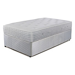Simmons - 'Technicool Memory 1400' divan bed with memory foam mattress