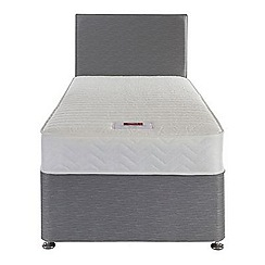 Airsprung - Sleepheaven 'Classic' divan bed with memory foam mattress and 2 drawers