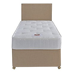 Airsprung - Sleepheaven 'Supreme' divan bed with 800 pocket mattress and 2 drawers