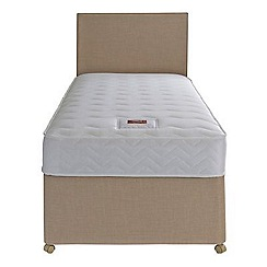 Airsprung - Sleepheaven 'Supreme' divan bed with 800 pocket memory foam mattress and 2 drawers