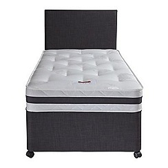 Airsprung - Sleepheaven 'Superior' divan bed with 1000 pocket deluxe mattress and 2 drawers