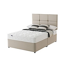 Silentnight - Celestial divan bed with 'Easy Care' mattress