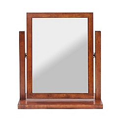 Willis & Gambier - Dark brown 'Kochi' gallery mirror