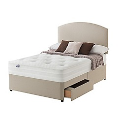 Silentnight - Celestial divan bed with 'Pocket Memory' mattress and 2 drawers