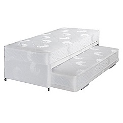 Airsprung - 'Supacoil' divan guest bed with underbed and mattress
