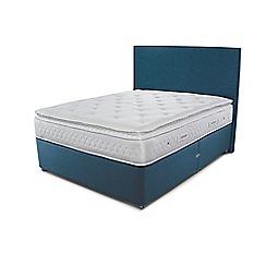 Sleepeezee - Blue divan bed with 'Opulence 3000' mattress