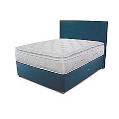 Sleepeezee - Blue divan bed with 'Opulence 4000' mattress