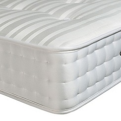 Debenhams - 'Perfectly Ortho Silver' pocket spring mattress