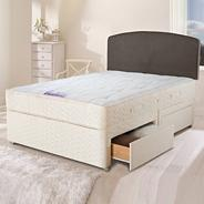 Ortho 'Royal' divan bed and mattress