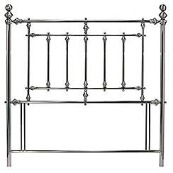 Debenhams - Antique nickel 'Imperial' headboard