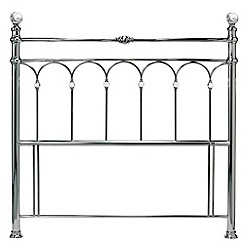 Debenhams - Antique nickel 'Krystal' headboard