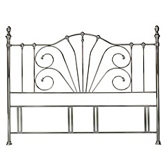Debenhams - Antique nickel 'Rebecca' headboard