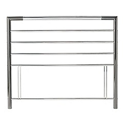Debenhams - Nickel and chrome 'Urban' headboard