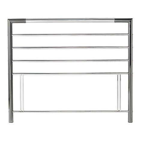 Debenhams - Nickel and chrome +Urban+ headboard